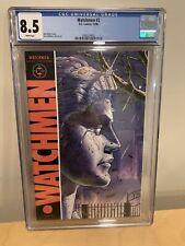 Watchmen #2   Dc   1st Print   Cgc 8.5 Vf+