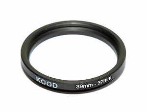 Kood Stepping Ring 39mm - 37mm Step Down Ring 39-37mm
