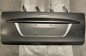2008-2016 OEM Smart Fortwo Gray Rear Tailgate Hatch Trunk Outer Panel w/ Emblem