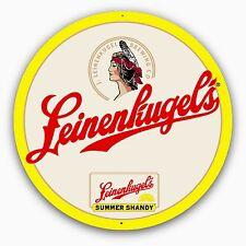 Leinenkugel's Summer Shandy 24 Inch Round (diameter) Metal Sign - NEW