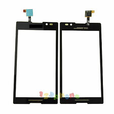 NEW TOUCH SCREEN GLASS LENS DIGITIZER FOR SONY XPERIA C S39H C2304 C2305 BLACK