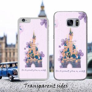 Disneyland Castle Happiest Quote Phone Case Cover