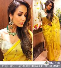 Stylish Saree For Women Indian Designer Embroidery Work Gorgeous Sari NX SN-618
