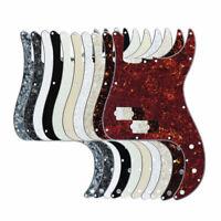 Standard P Bass Pickguard Scratch Plate for 4 Strings PB Bass 13Holes + Screws