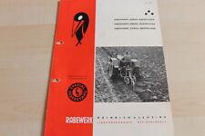 144567) Rabewerk Dreipunkt Beetpflüge Prospekt 11/1960
