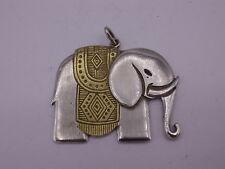 schöner gr. Elefant Anhänger aus Silber 925 punziert
