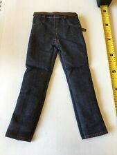 1/6 Scale Blue Jeans With Brown Belt