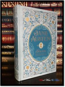 Jane Austen Novels Pride and Prejudice Emma + Sealed Leather Bound Gift Hardback