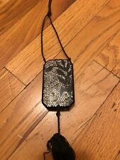 1920's Celluloid Rhinestone Vintage Make Up Compact