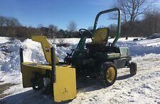 John Deere F935 22HP 3 Cylinder Diesel Hydrostatic Tractor + 47'' Blower + Mower