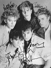 DURAN DURAN  - print signed photo - foto con autografo stampato
