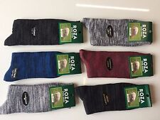 6 Pairs MENS THICK CHUNKY WOOL WORK HIKING BOOT SOCKS WARM SIZE UK  6-11 FKGMHF