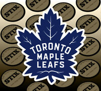 Toronto Maple Leafs Logo NHL Color Die Cut Vinyl Sticker Car Window Bumper Decal
