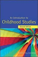 An Introduction to Childhood Studies-ExLibrary
