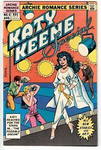 KATY KEENE SPECIAL #5 1984 CHEESECAKE GOOD GIRL ART COPPER AGE NICE!