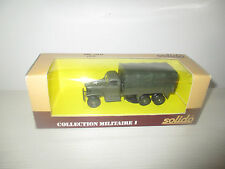 CAMION GMC TOLEE COLLECTION MILITARE I N°6036 SOLIDO SCALA 1:50