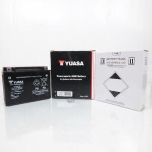 Batteria Yuasa Moto Can-Am 990 Spyder Rt / Rs 2010 Per 2012 YTX24HL-BS/12V