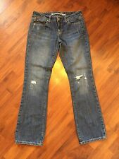"""Women's Size 6 American Eagle True Boots Jeans 32"""" Inseam Very Good"""