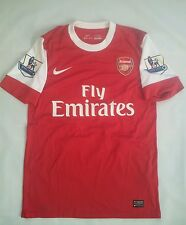 "RARE NIKE DRI FIT AUTHENTIC FC ARSENAL LONDON ""THE GUNNERS"" #23 ARSHAVIN JERSEY"