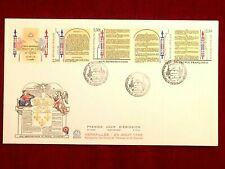 Grande Enveloppe 1er jour Bicentenaire Déclaration Droits de l'Homme 26-08-1989