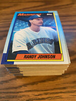 (90) 1990 Topps #431 Randy Johnson Seattle Mariners NM-MT+ Lot