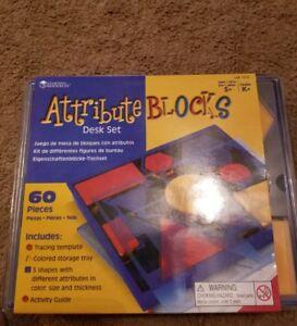 Attribute Blocks Set Desk Set shapes