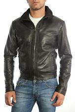 Jacke Mann Haut 100% Mann Leder Jacke Kleidung Homme Cuir 5s1