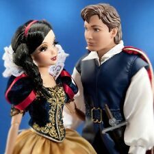 DISNEY FAIRYTALE DESIGNER COLLECTION COUPLES DOLL LIMITED SNOW WHITE & PRINCE