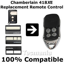 Chamberlain Liftmaster 4410EGB 418 MHz Replacement Remote Control 4180E New