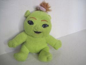 """8"""" Kellytoy Shrek 3 Baby Shrek Girl Plush Doll"""