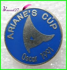 Pin's ARIANE CUP'S Osacar 1991 Fusée Navette Spatial  #H2