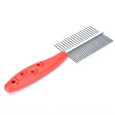 Dog Grooming Pet Hair Grooming Two-sized Dense Comb Tooth Slicker Brush  BH