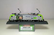 """Arnold N HN2109 - Loco elettrica Re 486 BLS Cargo scritte """"Gli Alpinisti"""""""