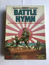 Battle Hymn Solitaire WWII Combat -Victory Games 1986 Lot of 2