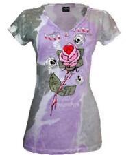 ALCHEMY ENGLAND GOTHIC T-Shirt Ladies Love & Luck Taglia M OFFICIAL MERCHANDISE