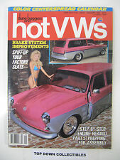 hot VWs and dune buggies  January 1988    Baja Knight  First Class Baja Racers