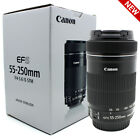 Canon EF-S 55-250mm f/4-5.6 IS STM Image Stabilizer F4-5.6 Zoom Lens EOS