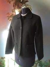 Talbots Dark Green Knit Blazer Cardigan Jacket Size XS NWT