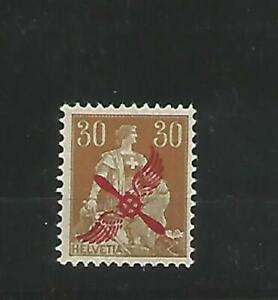 Schweiz MiNr 152 postfrisch - Flugpost 1920 beste Erhaltung - selten angeboten