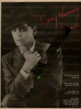 Gary Numan UK Dance LP advert 1981 MM-XWOP