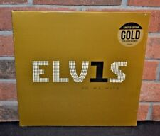 ELVIS PRESLEY - ELV1S 30 #1 Hits, RCA Ltd Import 2LP GOLD COLORED VINYL Sealed!