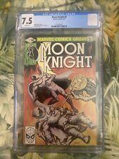Moon Knight #6 CGC 7.5 1980 Marvel Comic Klaus Jansen Art