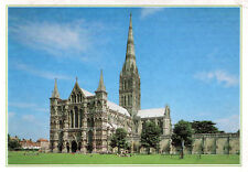 England - Salisbury  -  The Cathedral Church of St. Mary - The West front - 1995