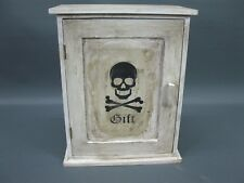 Vintage Giftschrank  Hausapotheke Apotheke shabby chic    30 cm x 24 cm x 13 cm
