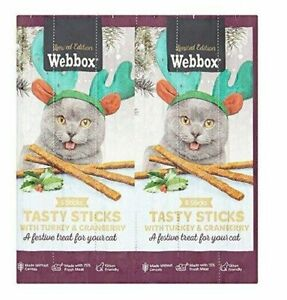 Webbox Tasty Sticks With Turkey & Cranberry 35g - 6 Sticks