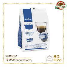 80 Capsules capsules café Gimoka Nescafé compatible Dolce Gusto espresso soave
