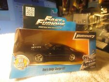FAST AND FURIOUS 7 ~ DOM'S 1970 DODGE CHARGER R/T 2015 JADA TOYS 1/32 BLACK F1