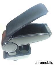 Noir accoudoir Console centrale compatible avec Ford Fiesta MK7 2009-2017