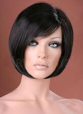 Ladies Short Wig Blonde Black Brown Wig Bob Pixie Boycut Wispy Fashion Wigs