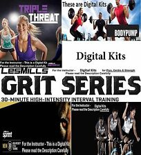 Les Mills Group Exercise Program's. High Quality Digital Instructor Kits.